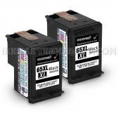 2 Pack Hp Deskjet 3720 Black High Yield Ink Cartridges