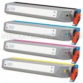 Replacement Xerox Phaser 7300 Set of 4 High Capacity Laser Toner Cartridges