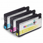 Ink Cartridges Replacement for HP 952XL - 1 Cyan L0S61AN, 1 Magenta L0S64AN, 1 Yellow L0S67AN