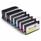 8 Pack Ink Cartridges Replacement for HP 952XL - 2 Black F6U19AN ink cartridge, 2 Cyan L0S61AN, 2 Magenta L0S64AN, 2 Yellow L0S67AN