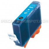 Canon BCI-3eC Cyan Compatible Inkjet Cartridge - 420 Page Yield