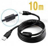 10 Meters USB Wire A to B Printer Cable High Speed Data Line For HP Lexmark Canon Epson Brother Dell Samsung and more