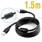1.5m USB Wire A to B Printer Cable High Speed Data Line For HP Lexmark Canon Epson Brother Dell Samsung and more