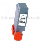 Canon BCI-24Bk Black Compatible Inkjet Cartridge - 150 Page Yield