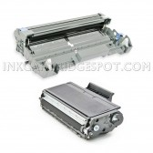Compatible TN650 (TN650) DR-620 (DR620) Combo Pack of 2, 1 Black Toner Cartridges and 1 Pack Drum