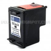Hewlett Packard C9364WN (HP 98 Black) Compatible Ink Cartridge - 440 Page Yield