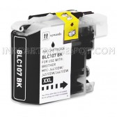 Brother Compatible LC107BK Super High Yield Black Ink Cartridge