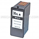Replacement Lexmark 18C2170 (#36XL) High Yield Black Ink Cartridge Lexmark 36XL - 500 Page Yield