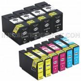 10 PK Canon PGI-1200XL Replacement Ink Cartridges (4 Black 9183B001, 2 Cyan 9196B001, 2 Magenta 9197B001, 2 Yellow 9198B001)