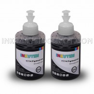 Set of 2 Refill Ink Kit 140ml Super High-Yield Pigment for 774 T774 T7741 T6641