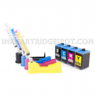 DIY Do-It-Yourself Ink Refill System for HP 934 935XL 4 Color - 240ml for HP Officejet Pro 6230, 6830, 6815, 6812, 6835 All-in-One Printers