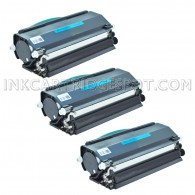 Compatible Dell 330-2650 (RR700) Set of 3 High Yield Black Toner Cartridges - 18000 Page Yield