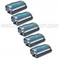 Compatible Dell 330-2650 (RR700) Set of 5 High Yield Black Toner Cartridges - 30000 Page Yield