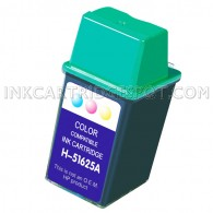 HP 51625A (HP 25 Tri Color) Compatible Ink Cartridge - 250 Page Yield