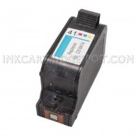 HP 41 Tri-Color Compatible HP 51641A Inkjet Cartridge - 461 Page Yield