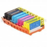 Replacement HP 564XL Set of 8 Inkjet Cartridges: 2 Black CN684WN, 2 CB323WN, 2 Magenta CB324WN, 2 Yellow CB325WN