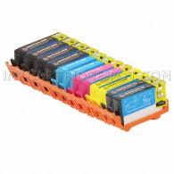 Replacement HP 564XL Set of 12 Inkjet Cartridges: 4 Black CN684WN, 2 Photo CB322WN, 2 Cyan CB323WN, 2 Magenta CB324WN, 2 Yellow CB325WN