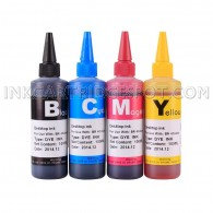 Compatible CISS Refill Ink Bottles (400ml, 100ml Per Color) for Brother LC61