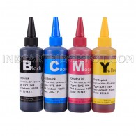 4x100ml Premium ink for EPSON 125 T125 CIS/CISS and refillable cartridges
