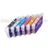 Refillable Ink Cartridge for Epson Stylus Artisan 600 700 710 725 800 810 835 837 Ink Cartridge Model T098XL