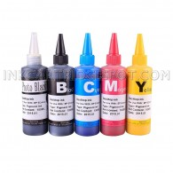 5 Pack Premium Pigmented ink for HP 564 564XL CIS/CISS and refillable cartridges