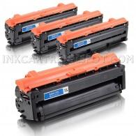 Compatible Samsung 505L Set of 4 Laser Toner Cartridges Includes: 1 CLT-K505L Black, 1 CLT-C505L Cyan, 1 CLT-M505L Magenta and 1 CLT-Y505L Yellow