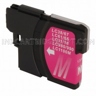 Brother Compatible LC61M Magenta Ink cartridge - 450 Page Yield