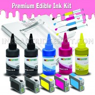 Premium Edible Ink Kit for CANON PGI-225 CLI-226 CANON PIXMA iP4820 iP4920 iX6520 MG5120 MG5220 MG5320 MG6120 MG6220 MG8120 MG8120B MG8220 MX712 MX882 MX892 (for Cake printing only)