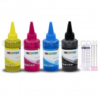 [INK Refill Bottle SET 400ml] for Epson T200 Expression XP-200 XP-300 XP-310 XP-400 XP-410 Workforce WF2520 WF2530 WF2540 Printers