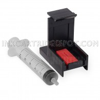 Ink Cartridge Suction Priming Clip for Canon PG240 PG-240XL CL241 CL-241XL Black & Tri-Color