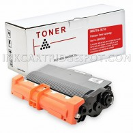 Compatible Brother TN750 High Yield Black Laser Toner cartridge - 8000 Page Yield