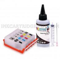Edible Cleaning kit for CANON PGI-250/CLI-251 With 100ml Edible Cleaning Solution Compatible with CANON Pixma MG6620 MG6420 MX922 MX722 MG5622 MG5620 IP7220 IX6820 MG5420 MG5422 MG5520 MG5522
