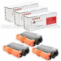 Compatible Brother TN750 Set of 3 Black Laser Toner Cartridges - 24000 Page Yield