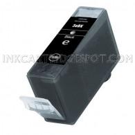 Canon BCI-3eBk Black Compatible Inkjet Cartridge - 750 Page Yield