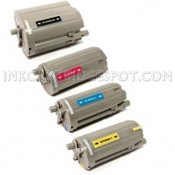 4 Pack Replacement Toner Cartridge Set for use in Samsung CLP-350 & CLP-351 Printers