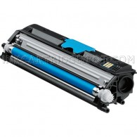 Compatible Konica-Minolta MagiColor 1600W A0V30HF High Yield Cyan Laser Toner Cartridge - 2,500 Page Yield