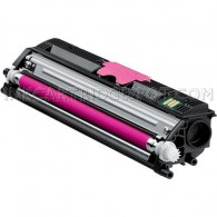 Compatible Konica-Minolta MagiColor 1600W A0V30CF High Yield Magenta Laser Toner Cartridge - 2,500 Page Yield