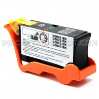 Compatible (Series 21) Standard Yield Black Ink Cartridge for Dell Y498D for the V313 Printers - 180 Page Yield