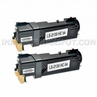 2 PK Compatible Dell T106C High Yield Black Toner Cartridge for Dell 2130cn & 2135cn