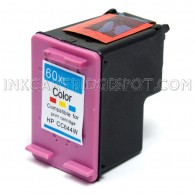 HP CC644WN (HP 60XL) High Yield Tri Color Compatible Ink Cartridge - 440 Page Yield