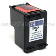 HP CB335WN (HP 74 Black) Ink Cartridge - 200 Page Yield