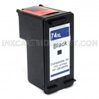 HP CB336WN (HP 74XL) High Yield Black Compatible Ink Cartridge - 750 Page Yield