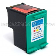 HP CB337WN (HP 75 Tri Color) Compatible Ink Cartridge - 170 Page Yield