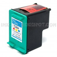 HP CB338WN (HP 75XL) High Yield Tri Color Compatible Ink Cartridge - 520 Page Yield