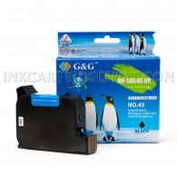 HP 45 Black Compatible HP 51645A Inkjet Cartridge - 833 Page Yield