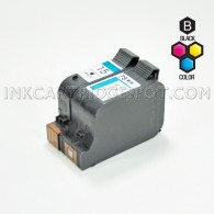 Compatible HP 15 Black (C6615DN / C6615D) & HP 78 Tri Color (C6578DN / C6578D) Combo Pack