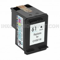 HP CH561WN (HP 61) Black Replacement Ink Cartridge - 190 Page Yield