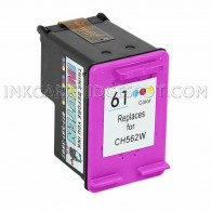 HP CH562WN (HP 61) Color Replacement Ink Cartridge - 165 Page Yield
