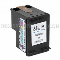 HP CH563WN (HP 61XL) High Yield Black Replacement Ink Cartridge - 480 Page Yield