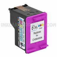 HP CH564WN (HP 61XL) High Yield Color Replacement Ink Cartridge - 330 Page Yield